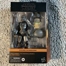Star Wars The Black Series: Din Djarin (The Mandalorian) and The Child Figures