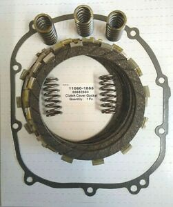 Clutch Repair Kit, EBC & clutch gasket, springs for Kawasaki ZX9 R 900,1998-2003