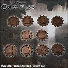 LAST STAND CONVERTIBLES BITS COUNTERS - LOOT BAG TOKENS (10)