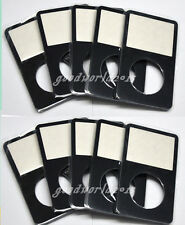10pcs black Front  Housing Case Cover for iPod 5 5.5th Video 30G 60gb 80gb