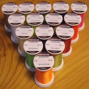 Textreme 6/0 Thread 100m - Colour Choice - ** 2021 Stocks ***** Fly Tying Thread