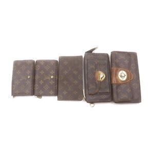 Louis Vuitton LV Long Wallet 5 pieces set Browns Monogram 2208841