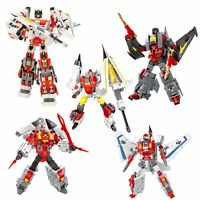 New Battleplane Transformation Robot Super Sonic  Action Figure  Model Toy SET