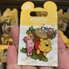 Shdr Disney Pin 2019 winnie the pooh piglet Shanghai Disneyland exclusive