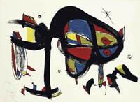Joan Miro CAP I CUA Poster Reproduction Paintings Giclee Canvas Print
