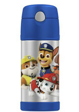 Thermos Vacuum Insulated Stainless Steel 12 Ounce Funtainer w/Straw PAW PATROL