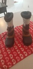 NORTH FACE BOOTS PRE OWNED SIZE 6 WORN ONCE