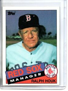 1985 TOPPS RALPH HOUK (NM/MT OR BETTER) *