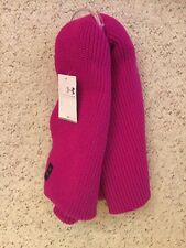 Under Armour Women's Pink Infinity Scarf Winter Coffee Run 1262262 UA NWT OSFA