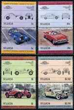 Timbres Voitures Ste Lucie 644/51 ** (36941H)