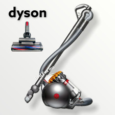 Dyson - Big Ball Canister Vacuum - Yellow/iron - Factory Refurbished!
