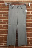 NEW Gap Pants Slacks Sz 10 Womens Wide Leg Stretch NWT Black Gray Dress Slacks