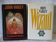 John Varley OPHIUCHI HOTLINE Wizard science fiction hardcover book lot VALLEJO !