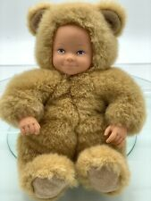 Vintage 1997, Anne Geddes, Baby Bear Doll, 20cm Tall (8') As New