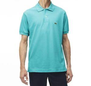 Lacoste Mens Polo Shirt BNWT size XL (6) Slim Fit Green PH4012 Genuine