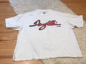 VTG 1991 Davey Allison 28 Cropped T-Shirt Sports Image NASCAR Racing One Sz