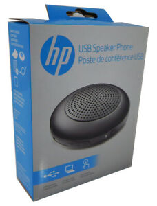 HP USB Conference Microphone Speaker New 904066-001 X7N17AA#ABM