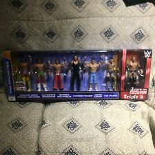 WWE FAN FAVORITES FIGURES  CM PUNK CENA TRIPLE UNDERTAKER WARRIOR HBK SAVAGE
