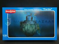 """Mikro Mir 1/35 35-015 First Combat Submarine """"Turtle"""" (Ships from Canada!)"""