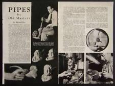 Sid Bertram Meerschaum Pipes 1950 Rothenfeld Pictorial