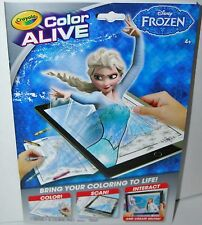 Disney Frozen Color Alive 7 Crayons 16 Colouring Activity Book from Crayola