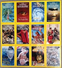 National Geographic Magazines Jan-Dec 1990 1991 1992 1993 1994 1995 1996