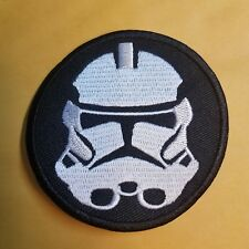 Star Wars Stormtrooper Helmet Round Patch 3 inch patch