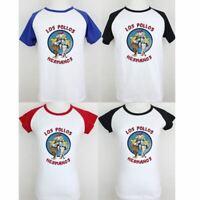 Breaking Bad Los Pollos Hermanos Couples T-Shirt Men's Women's Graphic Tee Tops