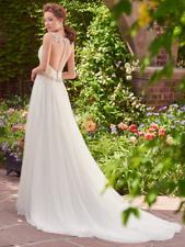 Maggie Sottero/Ingram Wedding Dress SHELLEY size 14 Ivory NEW!!