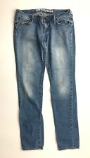 Bullhead 7 Long Skinny Jeans Hermosa Light Wash Bottom Juniors Youth