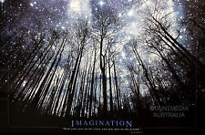 IMAGINATION - STARS & TREES MOTIVATIONAL QUOTE POSTER (61x91cm)  NEW LICENSED