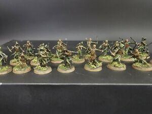 Gamesworkshop Hobbit LoTR Mirkwood rangers  Pro painted made to order