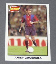 90 PEP GUARDIOLA BARCELONA BLAUGRANA ESPAÑA PANINI SUPER FOOTBALL 99 1998-1999