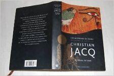 Christian Jacq - Le chemin de feu (Les mystères d'Osiris) - 2004 - relié