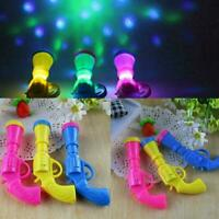 LED Flashing Projector Emitting Toys Funny Gift For Kids Children Z6I9