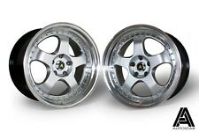 "Autostar GT5 19"" x 9.5"" and 10.5"" ET22 alloys Nissan 350Z fit dished JDM 5x114.3"