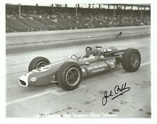 Jack Brabham F1 driver 1964 Indy Indianapolis 500 signed qualification photo