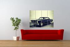 VINTAGE PHOTO TRANSPORT AUTOMOBILE CAR PONTIAC GTO GIANT PRINT POSTER NOR1049