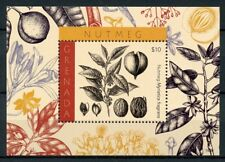 Grenada 2018 MNH Nutmeg Myristica fragrans 1v S/S Spices Plants Nature Stamps