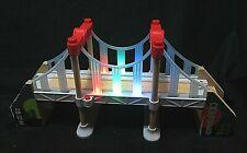 Disney Pixar Cars 2 Tokyo Rainbow Bridge Toys R Us Wood Collection