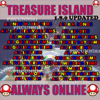 New update/Animal Crossing Treasure Island 1/2/3 HR Unlimited Trips! ACNH Loot