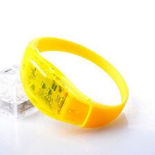 Concert Party Light Voice Control Glow Wristbands LED Bracelet Flash Bangle