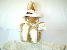 Creative Concepts Rabbit Plush Sleepy Girl in hammock Non Non Friends New w/ Tag