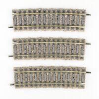 FLEISCHMANN Spur H0 6139 gebogene Gleisstücke 7,5° R=788mm, Profigleise, 3 Stück