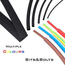 Heat Shrink Various Colours / Sizes / Lengths Sleeving Heatshrink Tube wire