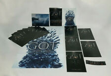 GAME OF THRONES OFFICIAL lot 20 collector cards + Poster ultimate season 8 PROMO