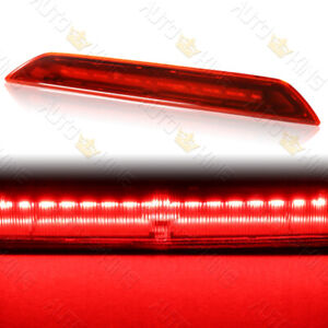 FIT 15-20 FORD TRANSIT 150 250 350 RED LENS LED HIGH LEVEL THIRD BRAKE LIGHT