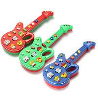 1 PC Kleinkind Bildungs Elektronische Gitarre Toy Sound Music Baby Zubehör