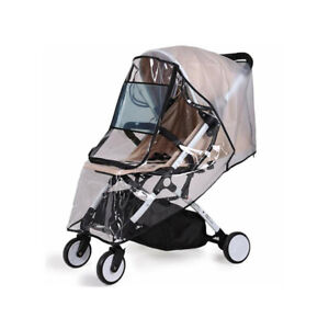 EVA Baby Stroller Waterproof Rain Cover Transparent Pushchairs Rainc C3