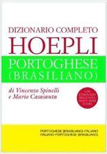 Dizionario completo Hoepli Portoghese (Brasiliano). ENVÍO URGENTE (ESPAÑA)